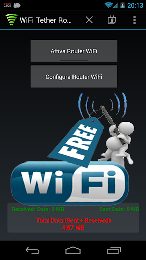 WiFi Tether Router