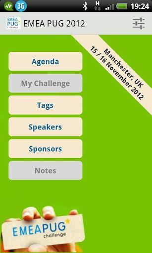 EMEA-PUG Challenge 2012