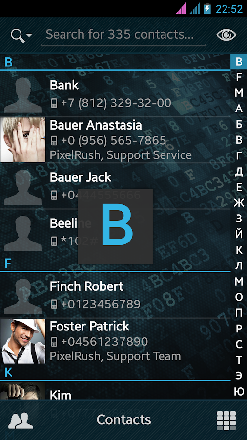 PixelPhone – Phone & Contacts - screenshot
