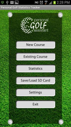 PGST Golf GPS Scorecard Free