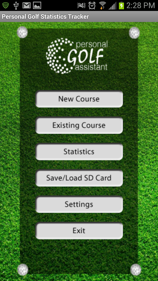PGST Golf GPS & Scorecard Free- screenshot