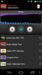 RADIO PERU- screenshot thumbnail