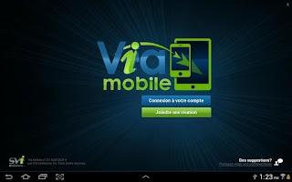 Screenshot of Via Mobile for Via 6