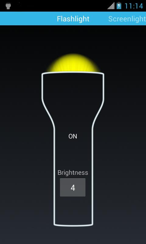 Flashlight Mini - screenshot