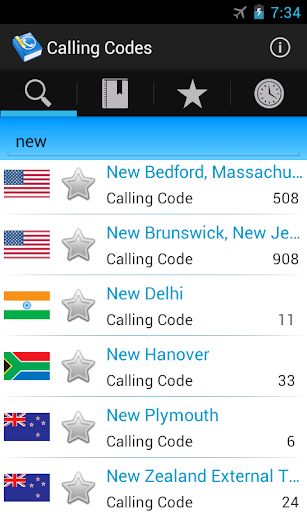 Calling Codes [2200+ Cities]