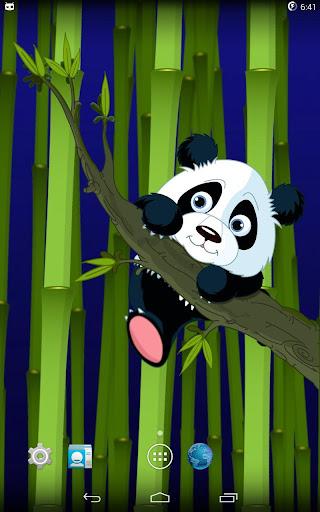 The cub panda