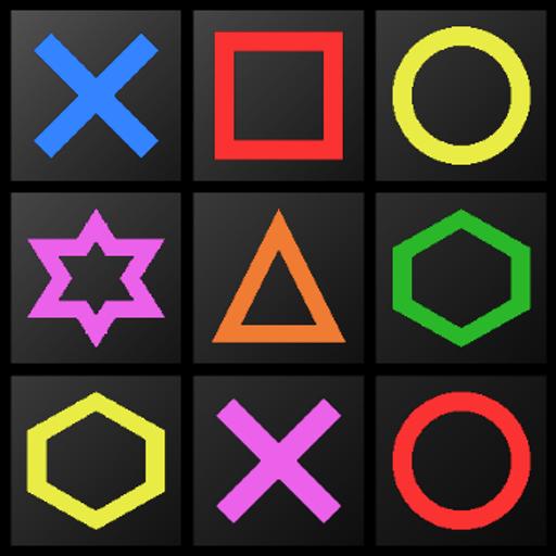 休闲の形か色をタップせよ! LOGO-記事Game