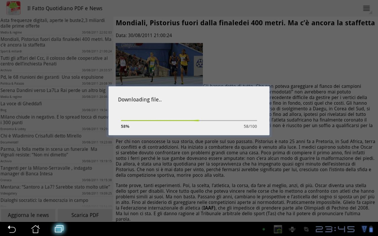 Il Fatto Quotidiano PDF Plus - screenshot