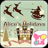 ★FREE THEMES★Alice's Holidays