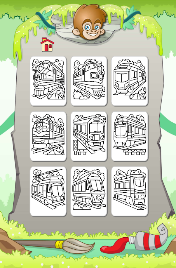 Train Coloring Game - Android Apps on Google Play