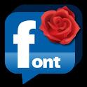 Facebook FlipFont Status icon