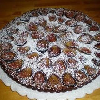 Vanilla Pistachio Fig Tart