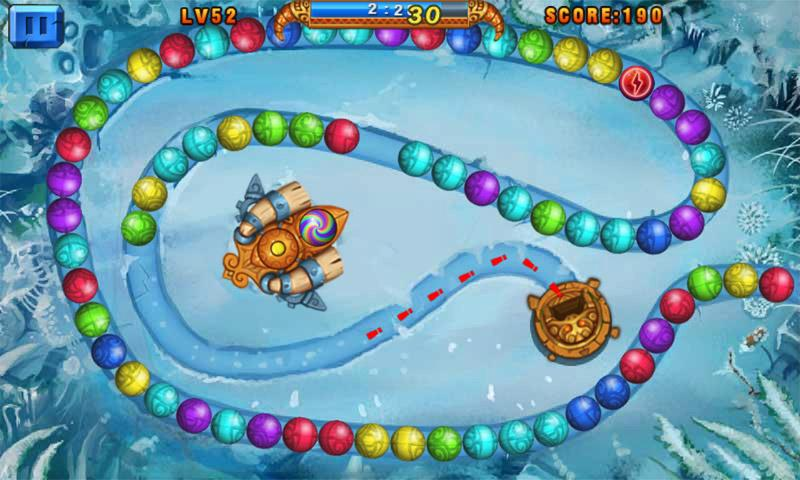 Screenshots of Marble Legend for iPhone