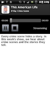 AndroidPod :Top Podcast Player - screenshot thumbnail