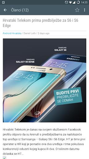 Aplikacija Android Hrvatska