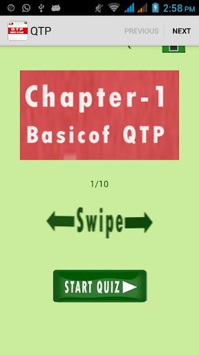 QTP quiz Exam