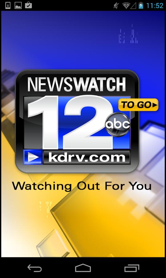 KDRV NewsWatch 12 - screenshot