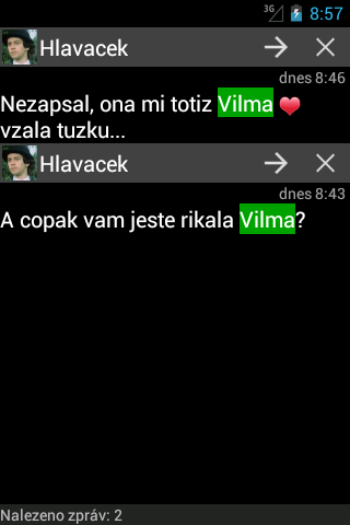 Oskárek SMS Plus - screenshot