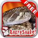 Angry Snake Free! icon