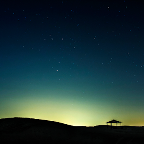 Lonely by Arslan Mughal - Landscapes Starscapes ( mountains, friends, desert, nature, stars, mood, lake, beauty )