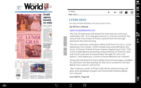 Daily World Print Edition- screenshot thumbnail