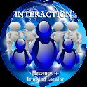 INTERACTION MESSENGER/LOCATOR icon