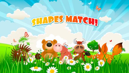 SHAPES MATCH Preschool Puzzle