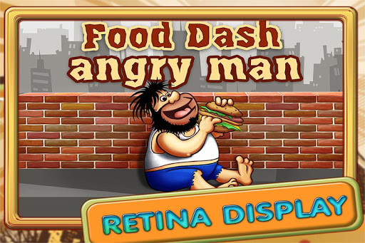 Food Dash Angry Man