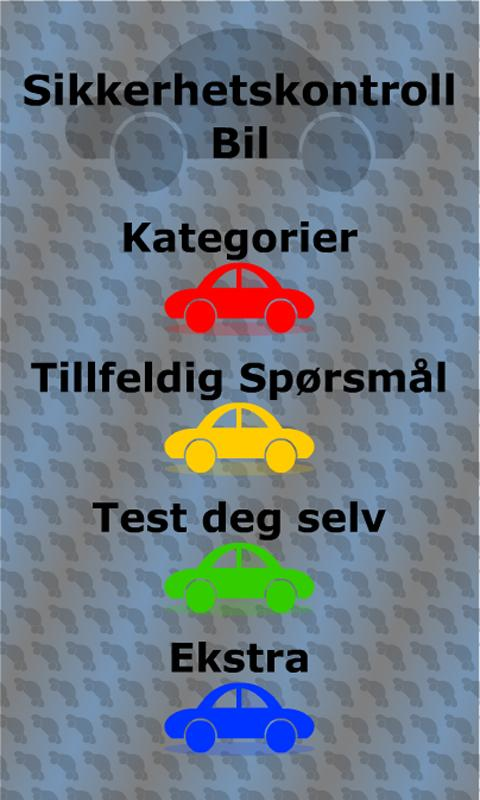 Driverslicencetest Norway - screenshot