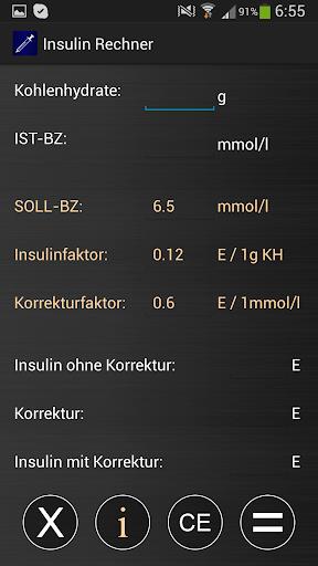Insulin Rechner