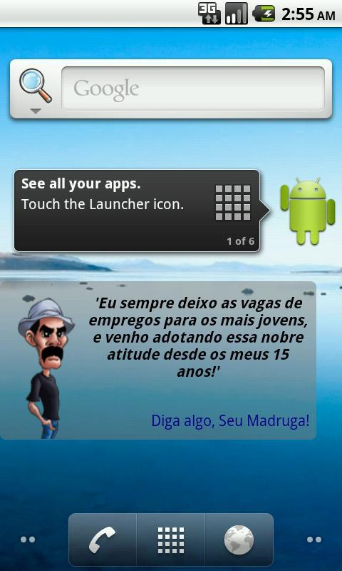 Seu Madruga Widget - screenshot