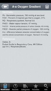 RespCalc - Medical Calculator- screenshot thumbnail