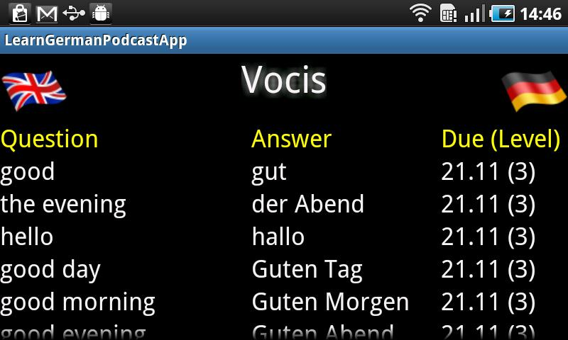 Learn German Podcast (Free) - screenshot