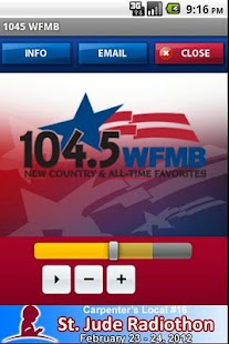1045 WFMB - screenshot thumbnail