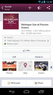 Mohegan Sun at Pocono Downs - screenshot thumbnail