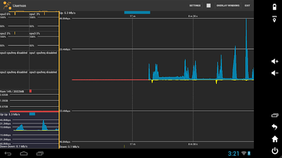 Usemon (Cpu Usage Monitor) - screenshot thumbnail