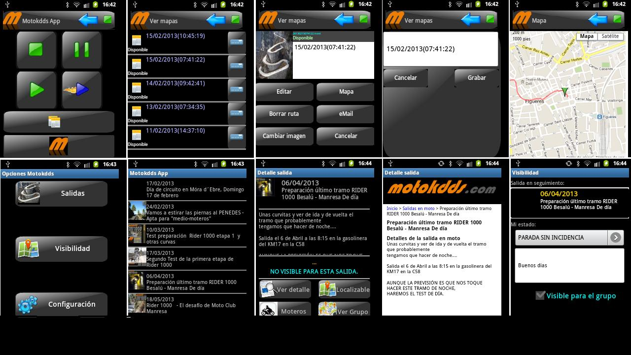 Motokdds App- screenshot