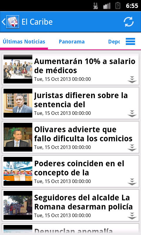 República Dominicana Noticias - screenshot