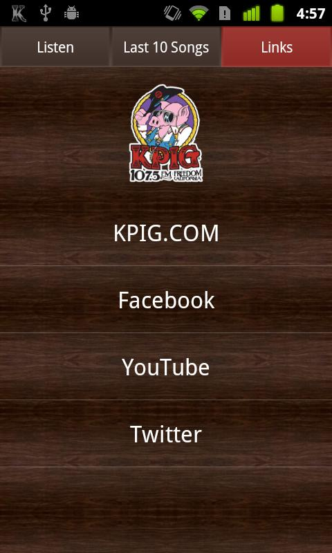 KPIG Online Radio - screenshot
