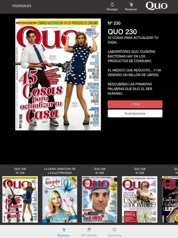 QUO Revista - screenshot