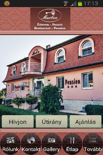 Marben Panzió Étterem Hegykő