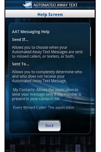 Automated Away Text - screenshot thumbnail