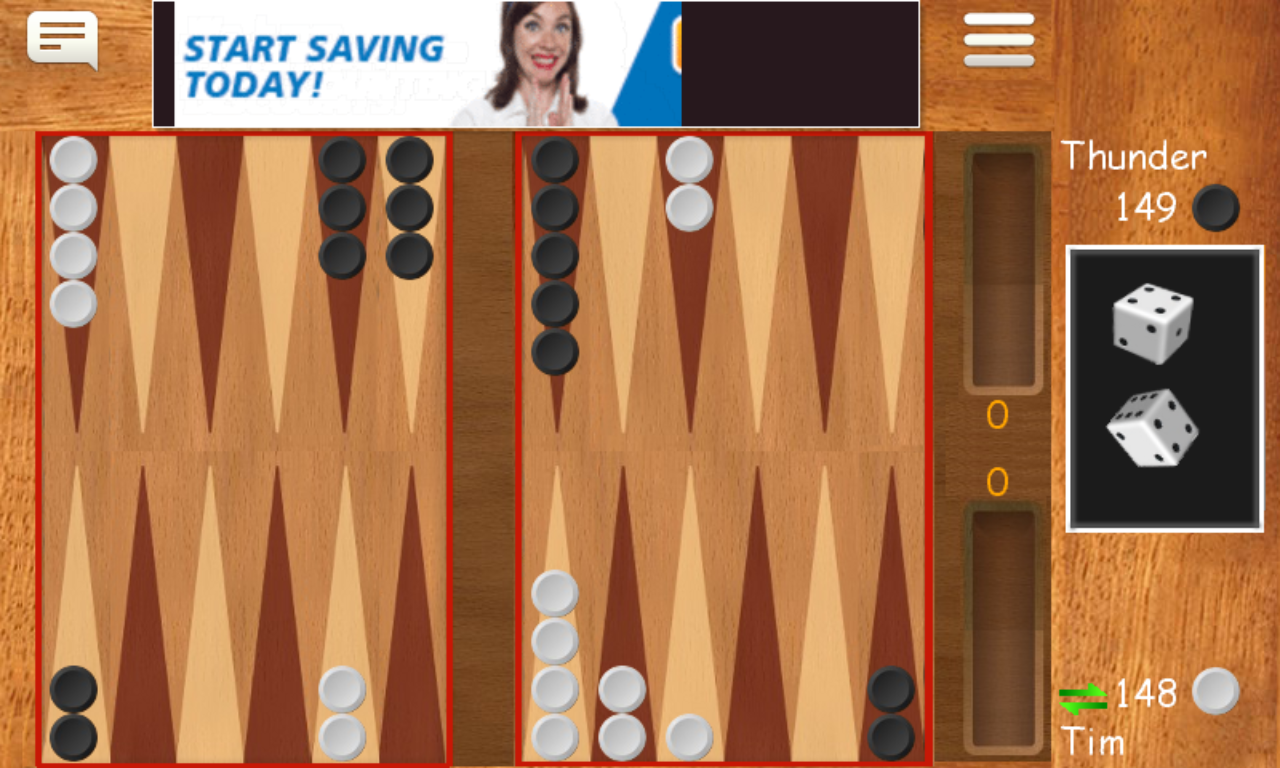 backgammon online 2 players free