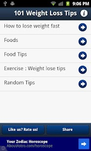 101 Weight Loss Tips - screenshot thumbnail