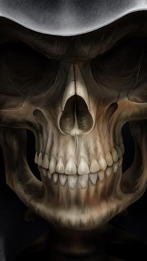 頭骨動態壁紙