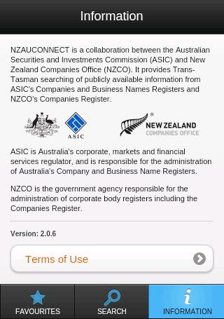 NZAUConnect- screenshot