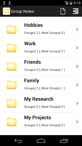 Group Notes
