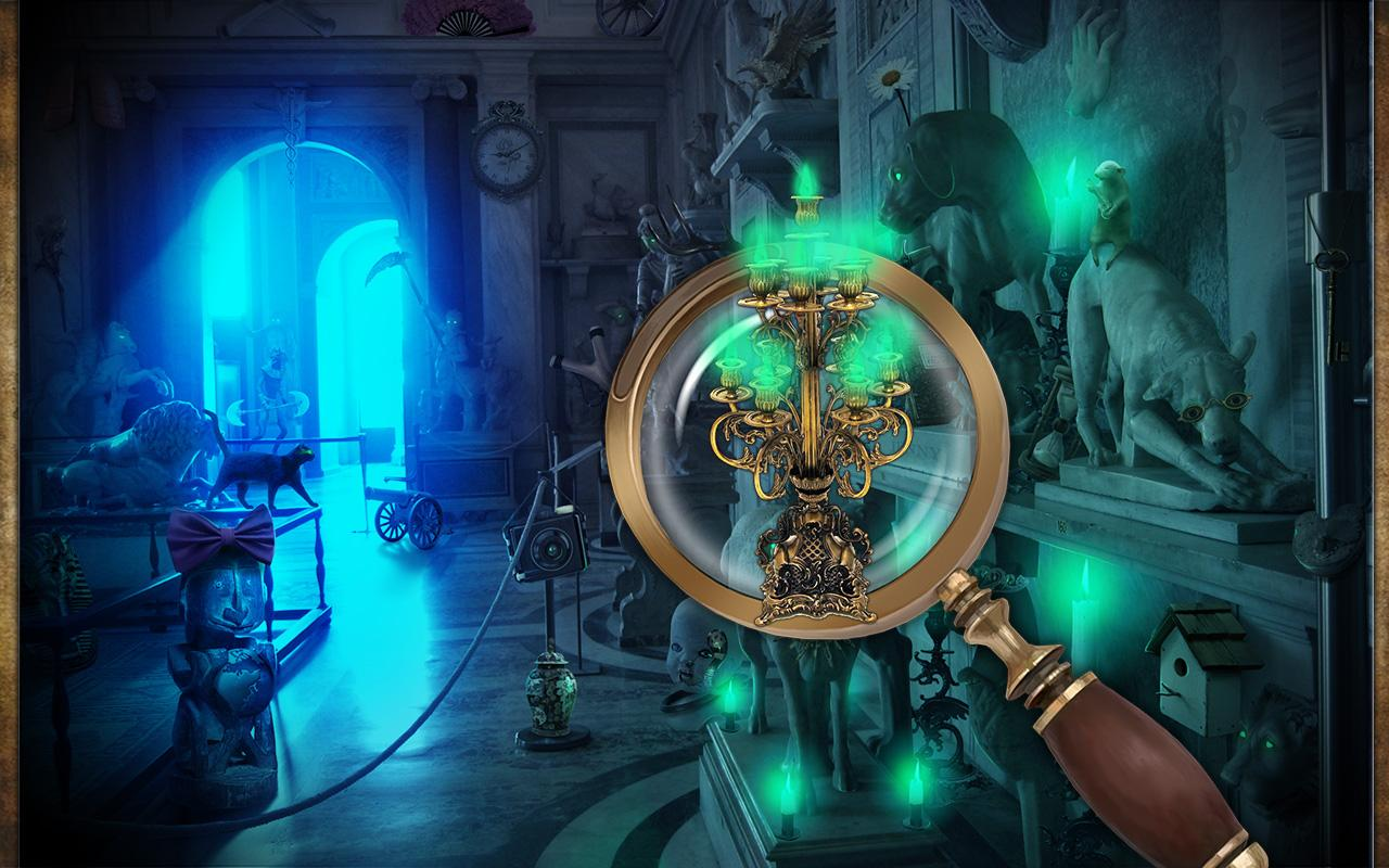 Hidden Objects - Cursed Museum - screenshot