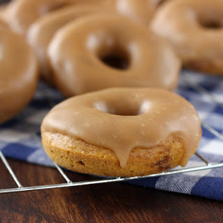 Pumpkin French Toast Donuts