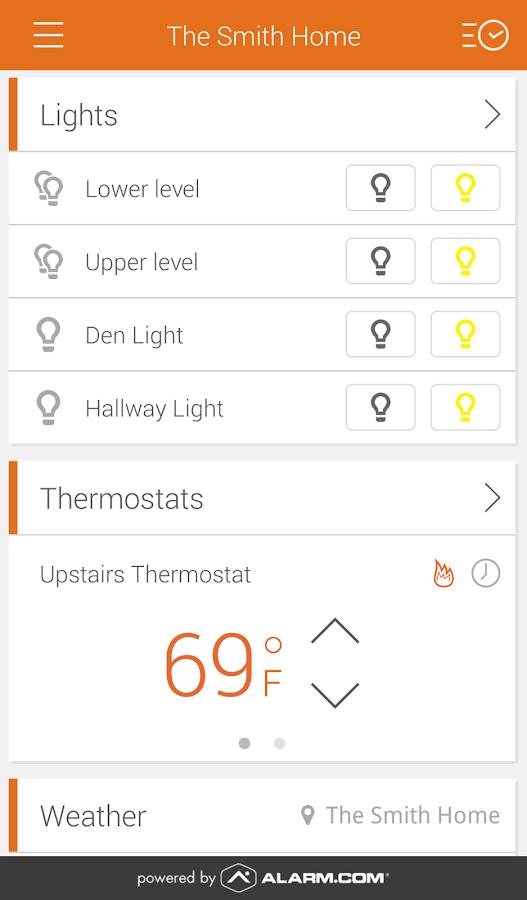 Alarm.com - screenshot